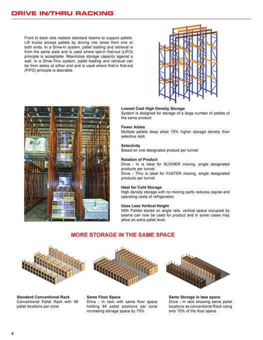 Calgary Warehouse Equipment - General Pallet Racking Systems - Page