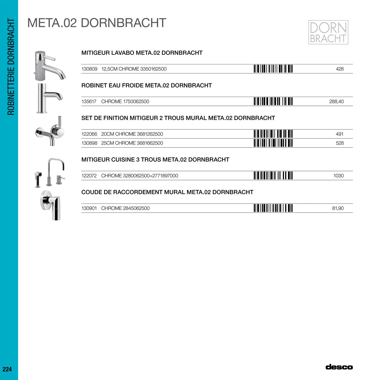 desco lmp tarif sanitaire eau chaude page 226 227. Black Bedroom Furniture Sets. Home Design Ideas