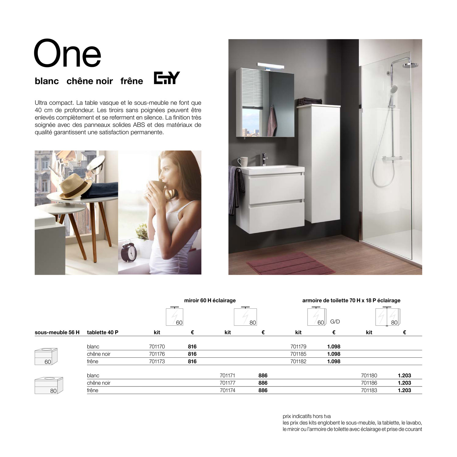 Desco city meubles page 4 5 - Armoire de toilette avec prise de courant ...