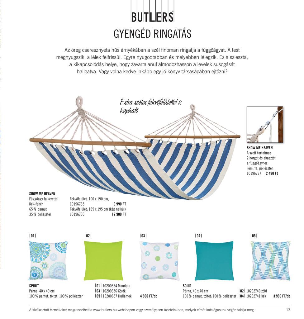 Butlers Butlers OTTHONTEREMTÉS 2015 tavasznyár Oldal 12