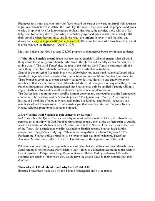 koran - Understanding Islam - Page 8-9 - Created with