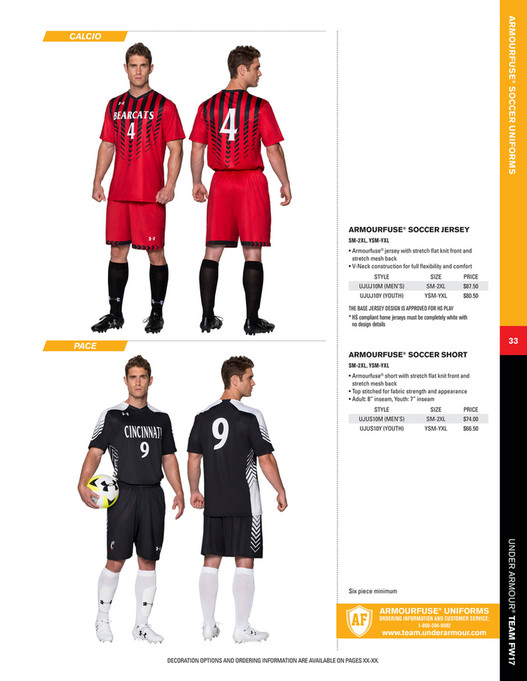 3a7863db24e My publications - Under Armour - Team Canada Uniforms 2017 Fall/Winter -  Page 32-33