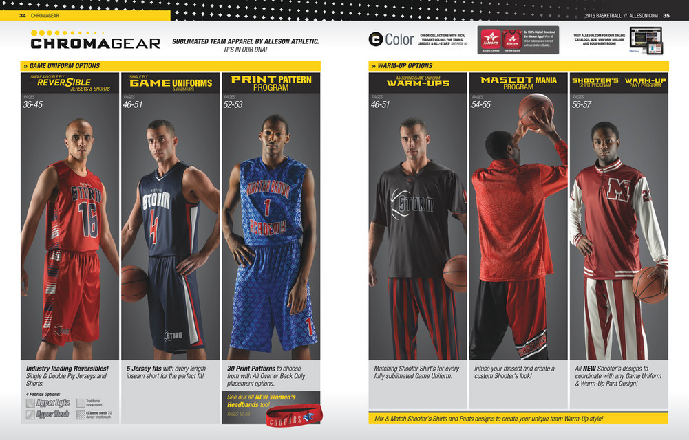 My publications - Alleson Athletic Basketball Catalogue 2016 - Page 19