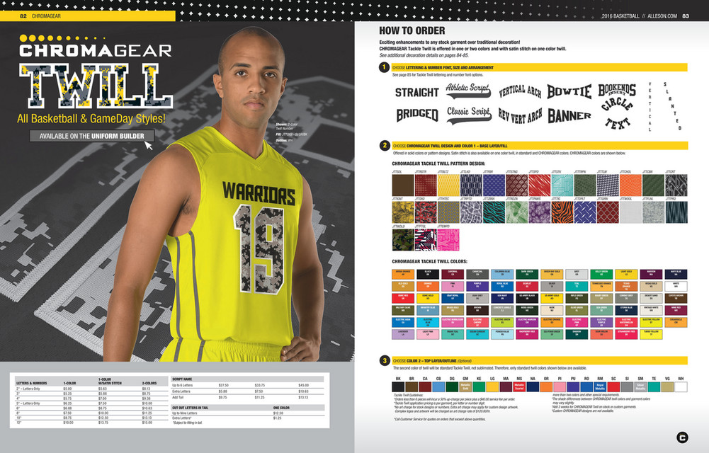 My publications - Alleson Athletic Basketball Catalogue 2016 - Page 44