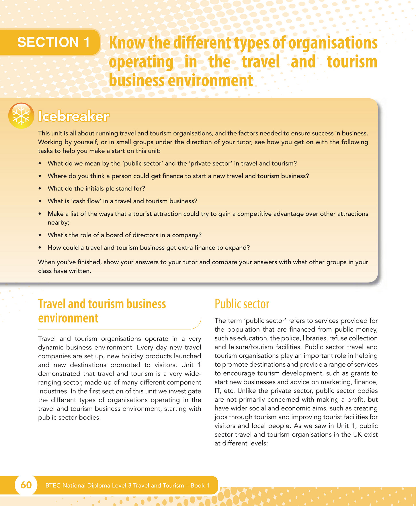travel and tourism unit 1 m1 These are the units we have chosen to deliver: unit 1: the uk travel and tourism sector (external examination) unit 2: uk travel and tourism destinations unit 3: development of travel and tourism in the uk unit 4: international travel and tourism destinations unit 5: factors affecting worldwide travel and tourism.