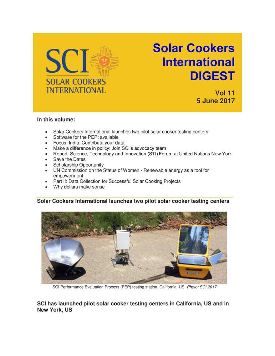 Solar Cooker Pdf