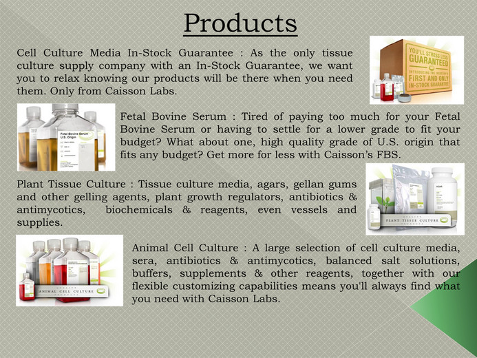 Caissonlabs Plant Tissue Culture Supplies Page 4 5 Created