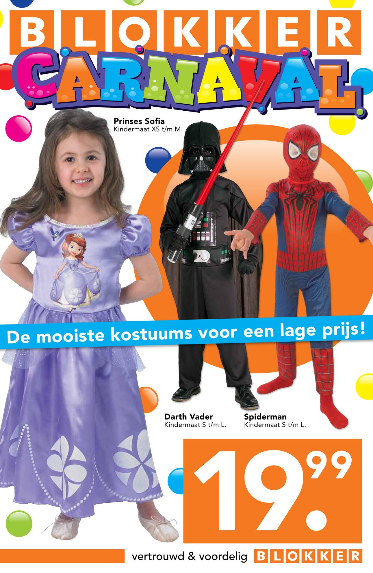Blokker_BE - Blokker folder Carnaval NL - Pagina 1 Darthvader