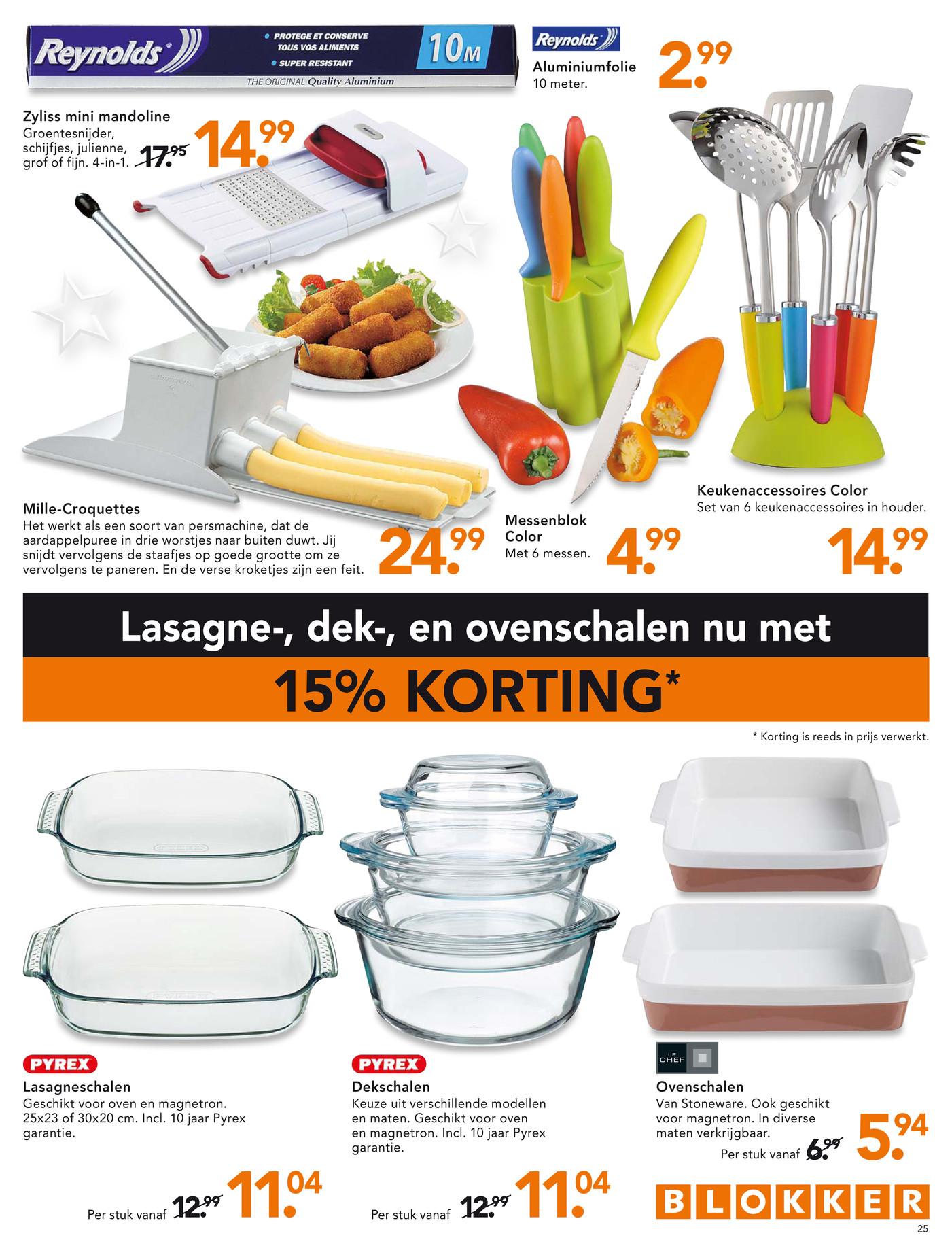 Mandoline Keuken Blokker : Blokker_BE – Blokker Folder 50 Vlaams – Pagina 24-25