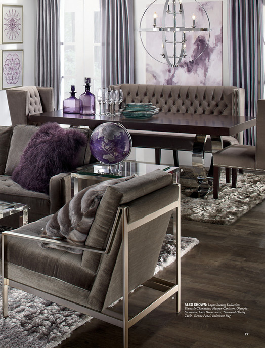 - Z Gallerie - Designed By You - Townsend Dining Table