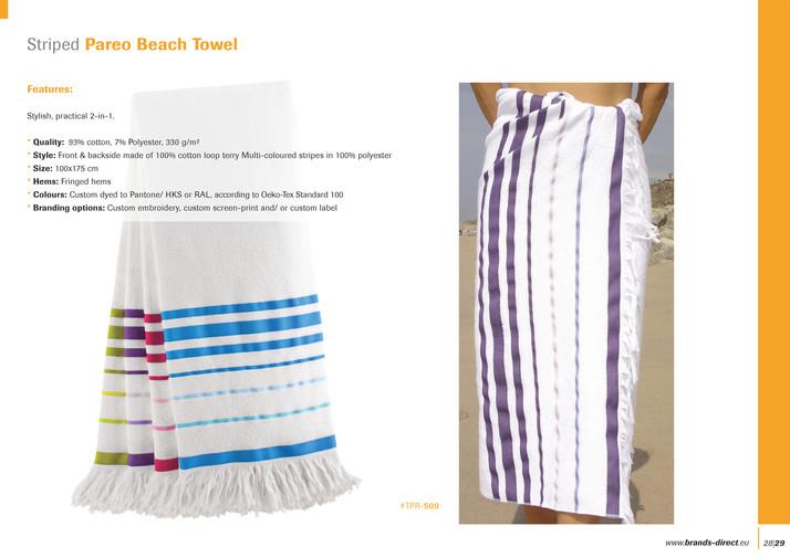 BRANDS identity textiles - Custom Promo Towels by BRANDS identity