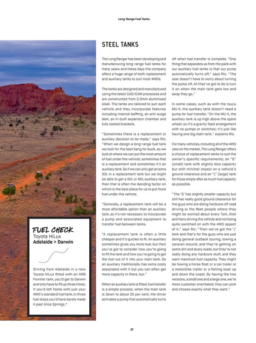 ARB 4x4 Accessories - ARB 4x4 Culture - Issue 49 - Page 38-39