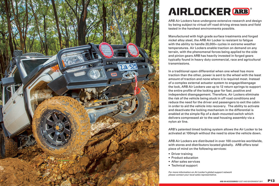 ARB 4x4 Accessories - Military Catalogue - Page 13