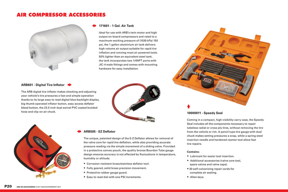ARB 4x4 Accessories - Military Catalogue - Page 20