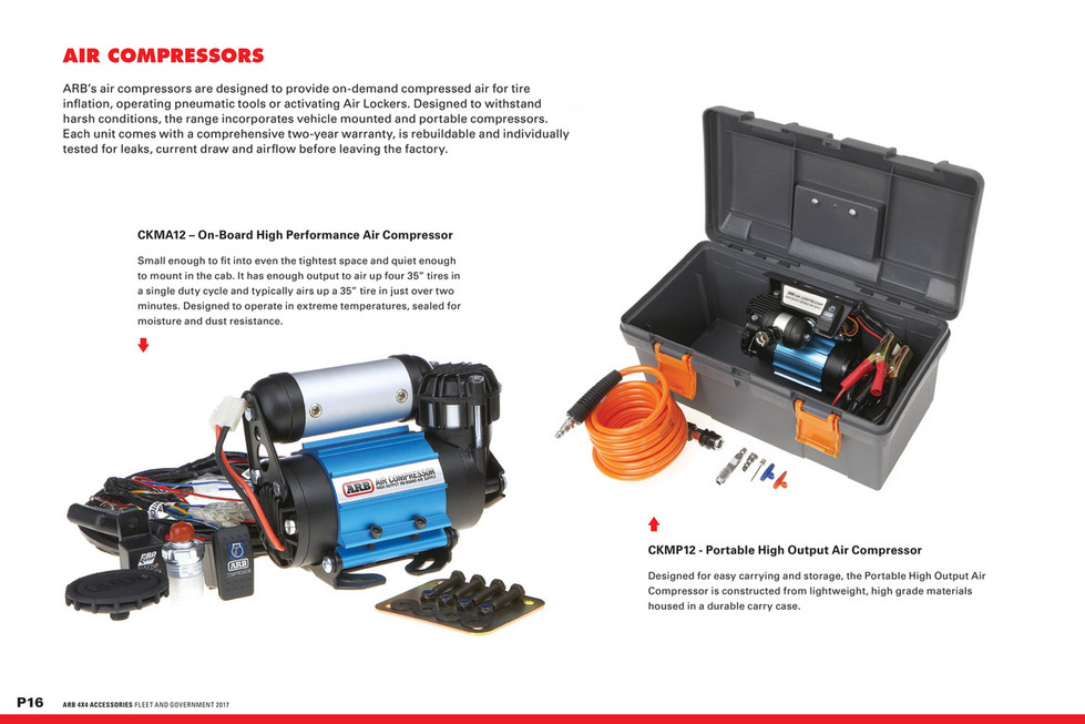 ARB 4x4 Accessories - Military Catalogue - Page 16