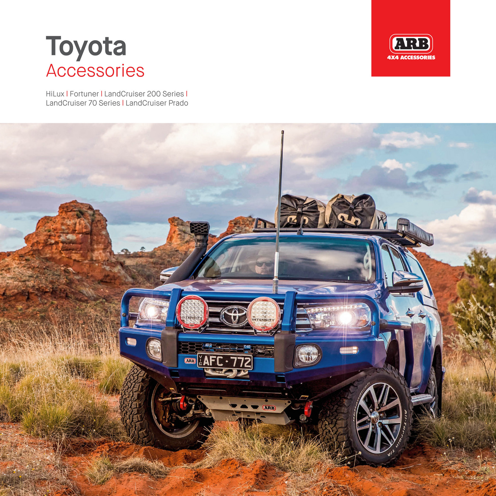 Arb 4x4 Accessories Toyota Dealer Booklet Page 18 19 Land Cruiser