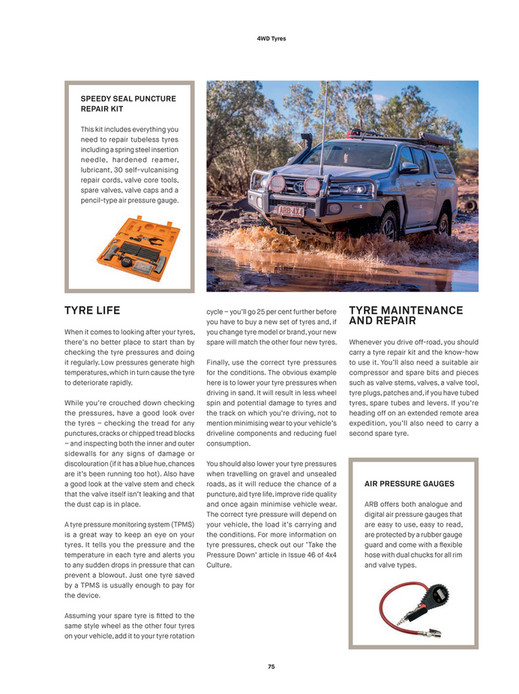 ARB 4x4 Accessories - ARB 4x4 Culture - Issue 50 - Page 74-75