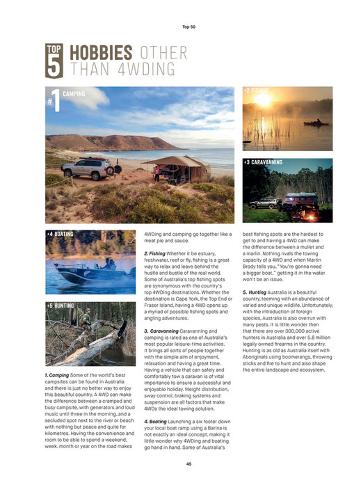 ARB 4x4 Accessories - ARB 4x4 Culture - Issue 50 - Page 44-45