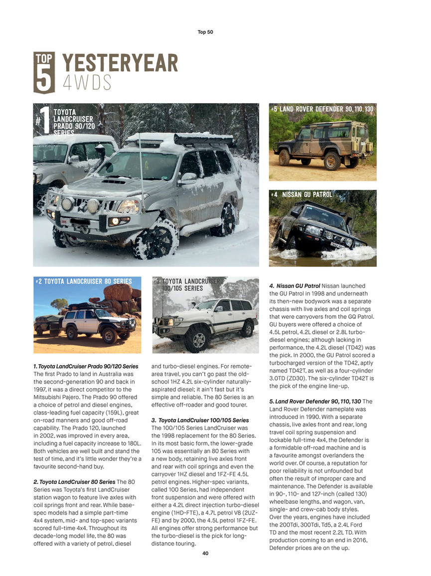 ARB 4x4 Accessories - ARB 4x4 Culture - Issue 50 - Page 40-41