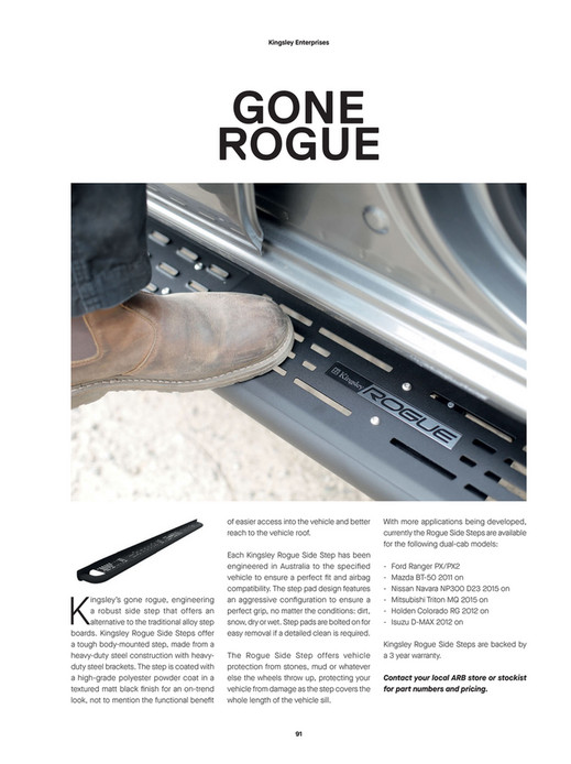 ARB 4x4 Accessories - ARB 4x4 Culture Issue 51 - Page 92-93