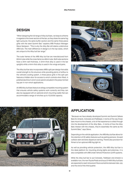 ARB 4x4 Accessories - ARB 4x4 Culture Issue 52 - Page 16-17