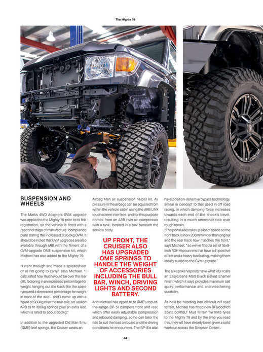 ARB 4x4 Accessories - ARB 4x4 Culture Issue 53 - Page 44-45