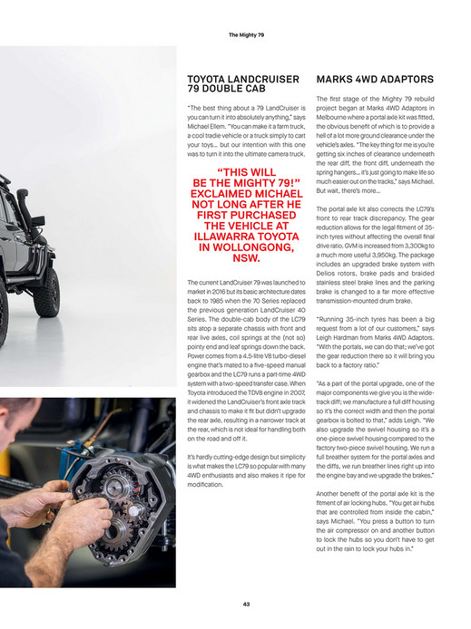 ARB 4x4 Accessories - ARB 4x4 Culture Issue 53 - Page 42-43