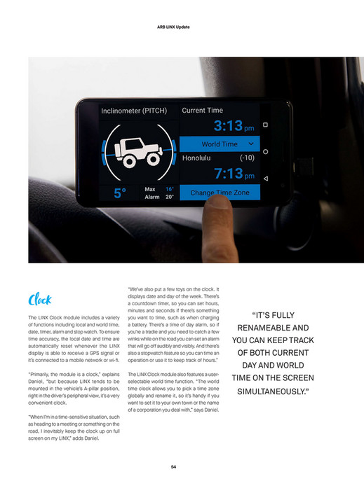 ARB 4x4 Accessories - ARB 4x4 Culture Issue 53 - Page 54-55