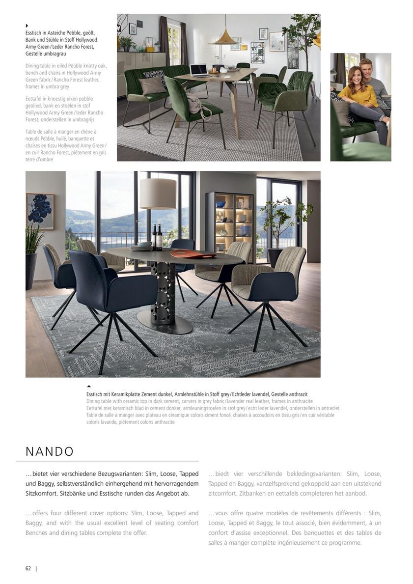 Design Bank Stof.Woonboulevard Wijchen Musterring Brochure Pagina 64 65