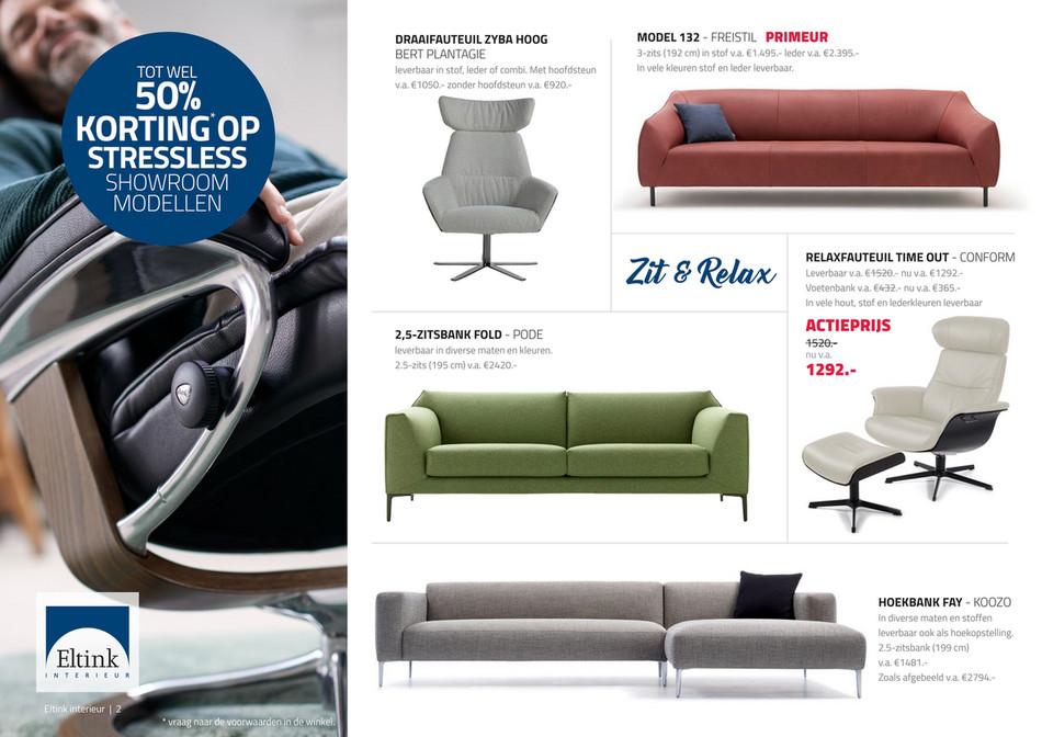 Woonboulevard Wijchen - Zit&Relax special   Eltink Interieur en ...