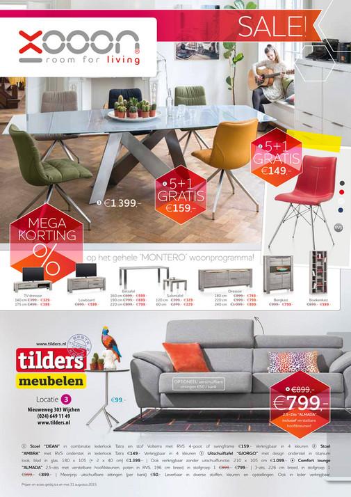 Bekijk hier de nieuwe folder van Eltink en Tilders Meubelen ...