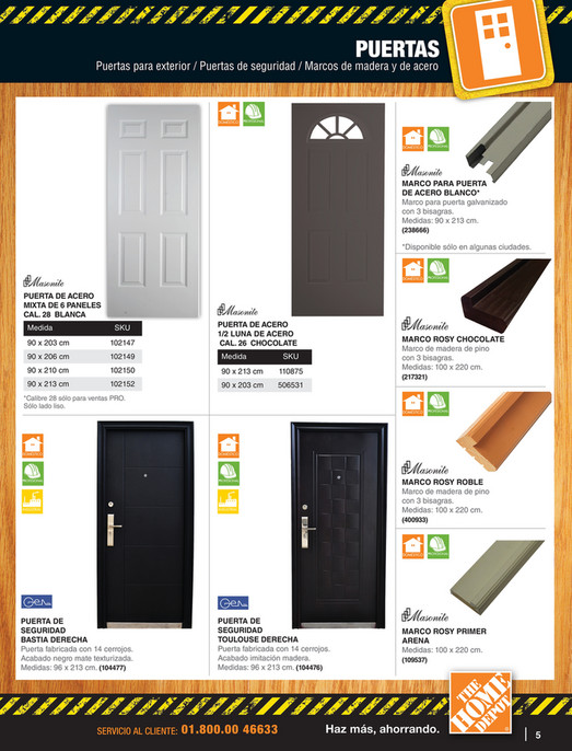Catalogo De Ventas A Profesionales The Home Depot Mexico Pagina
