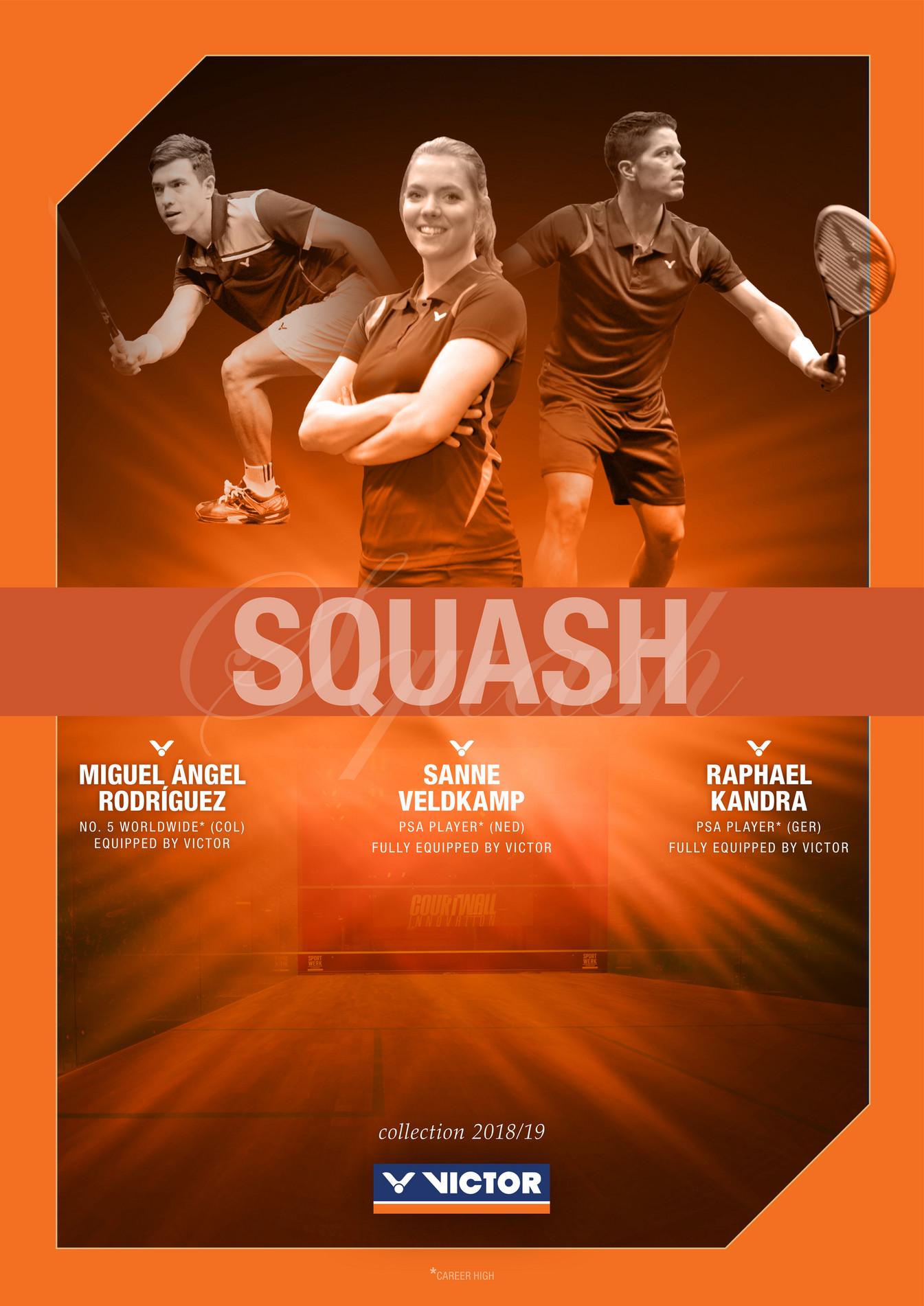 VICTOR Sport s r o  - squashkatalog2018 - Strana 1 - Created with