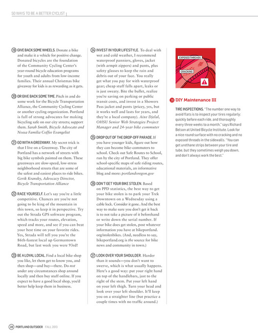 My publications - Fall2013 - Page 26-27 - Created with Publitas com