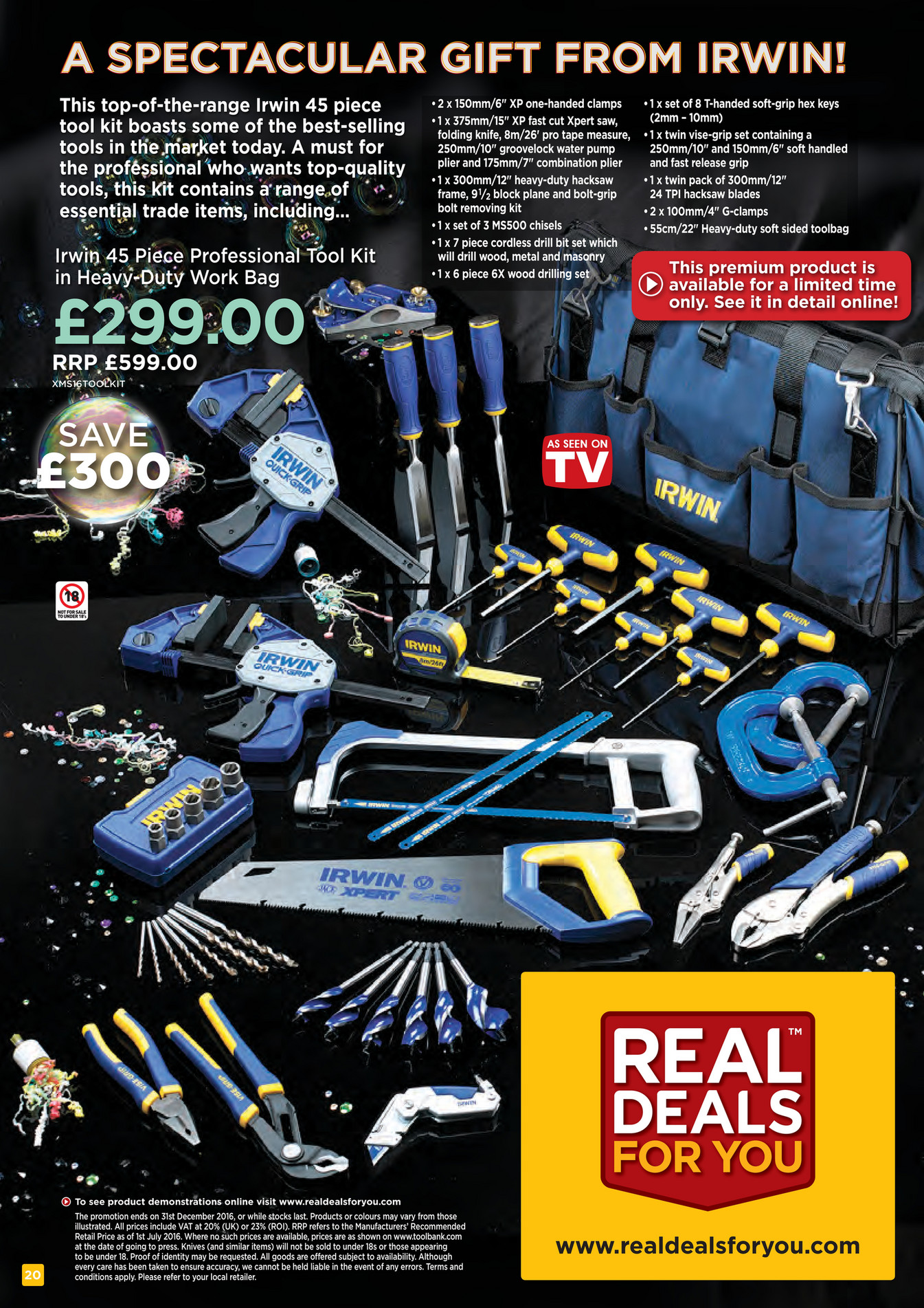 Toolfix Xmas 2016 Real Deals For You Page 20 Created With Publitas Com