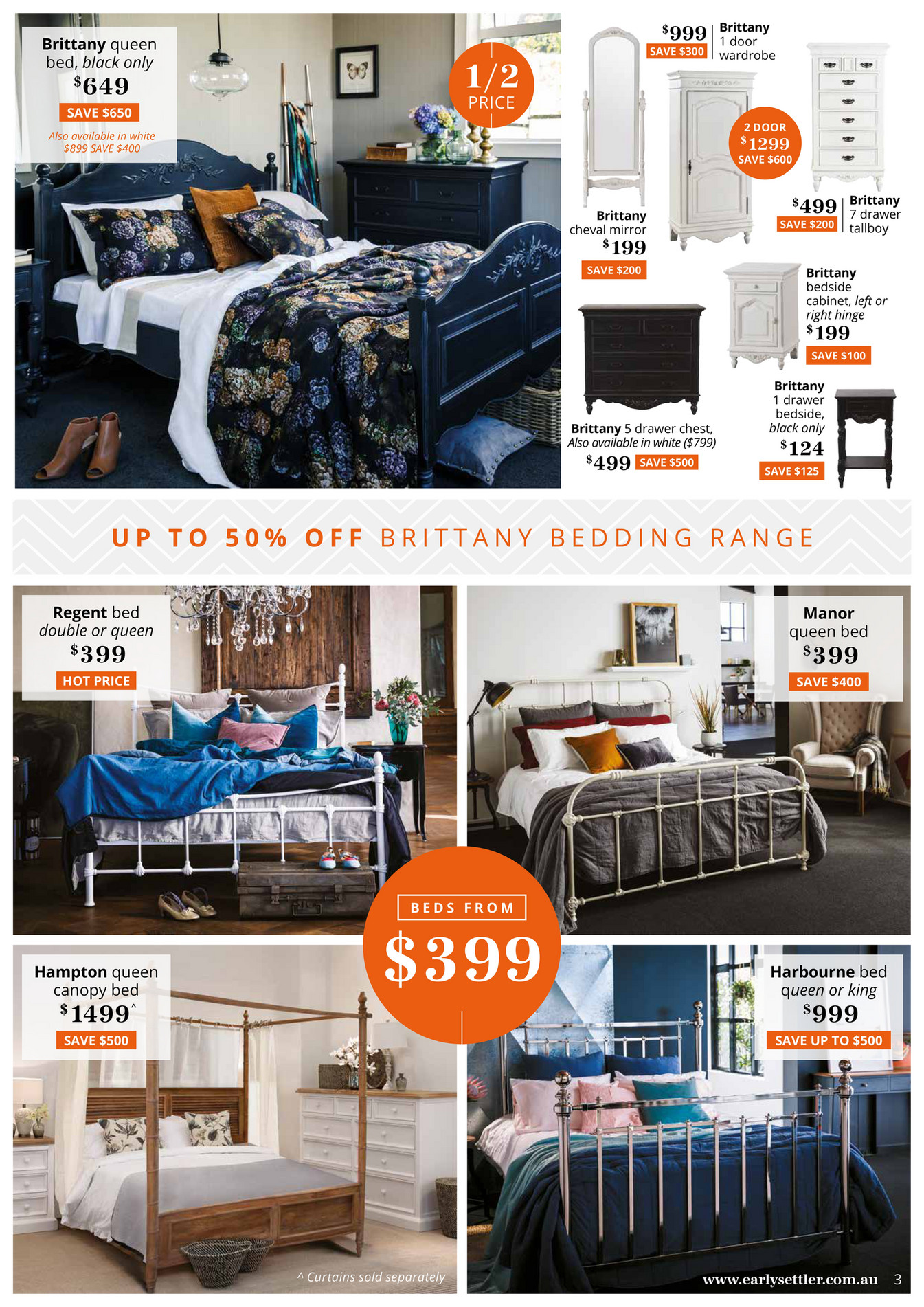 Settler Bedroom Furniture Early Settler Early Settler Final Summer Sale Page 2 3