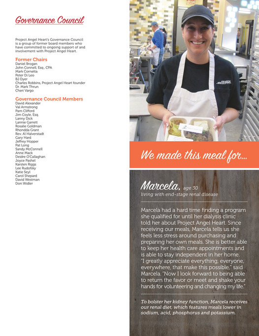 Project Angel Heart - 2014 Annual Report to the Community - Page 18