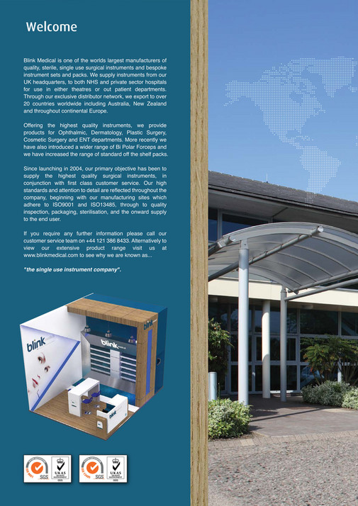 My publications - Blink Medical Brochure - Page 1 - Created
