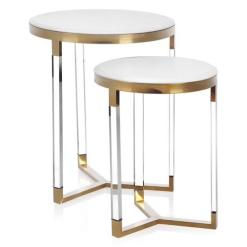 Murano tables set of 2 for Table 0 5 ans portneuf