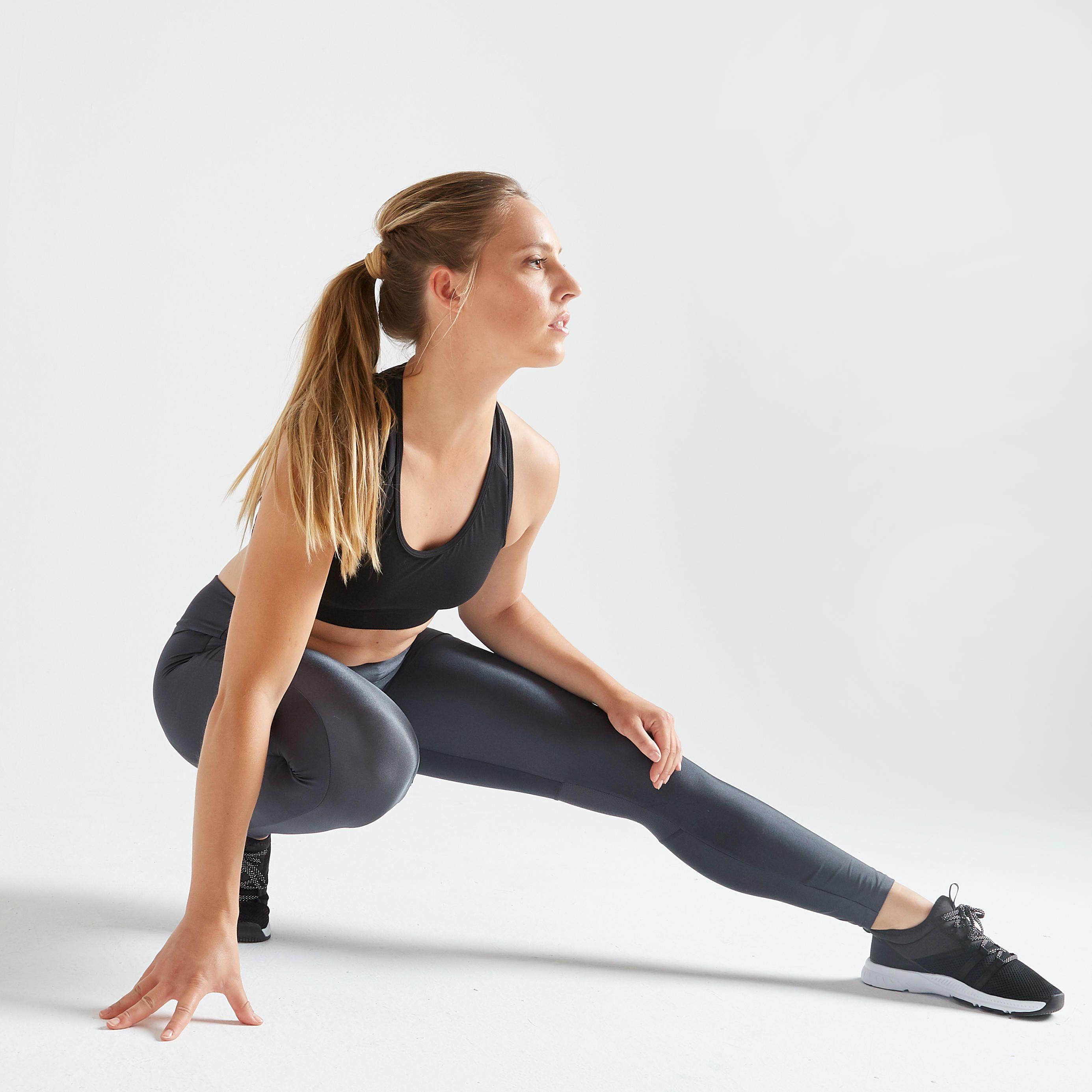 Decathlon Be Nl Decathlon Fr Magazine Q4 Nl Web Legging Fitness Cardiotraining Dames 120 Grijs 8543905